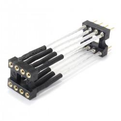 Prolongateur Extension pour AOP DIP8 Cuivre OCC Argent 30mm