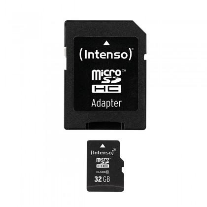INTENSO Memory Card Micro SDHC Class 10 32Gb