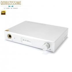 SMSL SAP-12 Amplificateur casque Class A/B 210mW 32 Ohm Argent