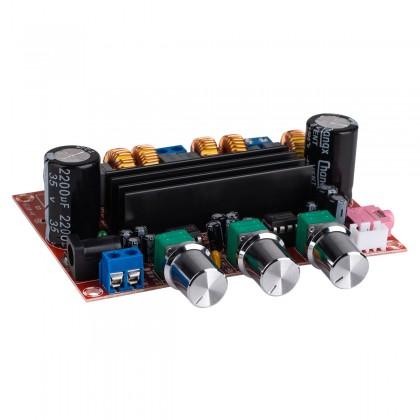 TPS3116D2 Module Amplificateur Class D 2x50W + 100W avec Filtres et Contrôles de Volume