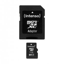 INTENSO Memory Card Micro SDXC Class 10 64Gb