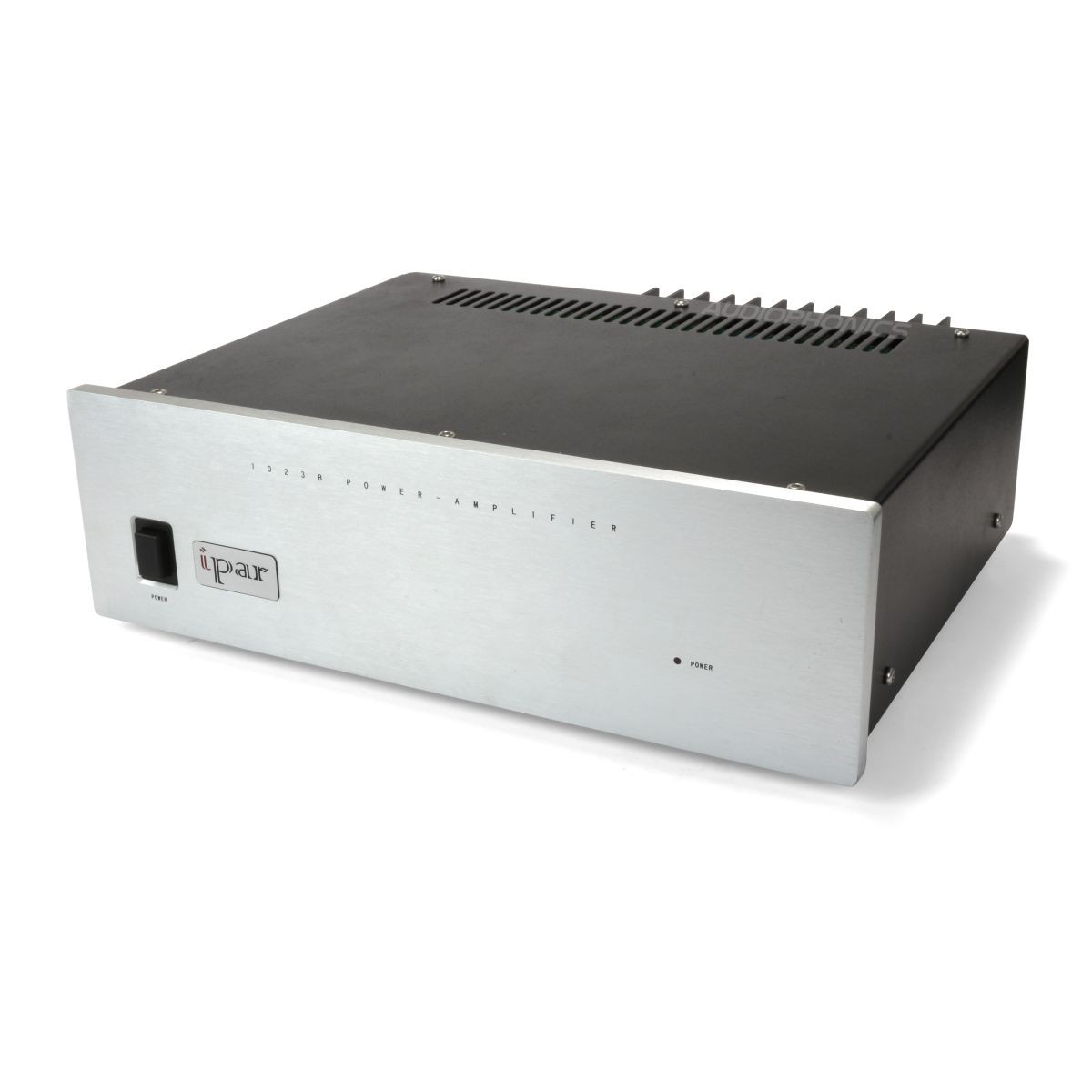 IPAR 1023B power amplifier Class A/B LM317 2x50W / 8 Ohm