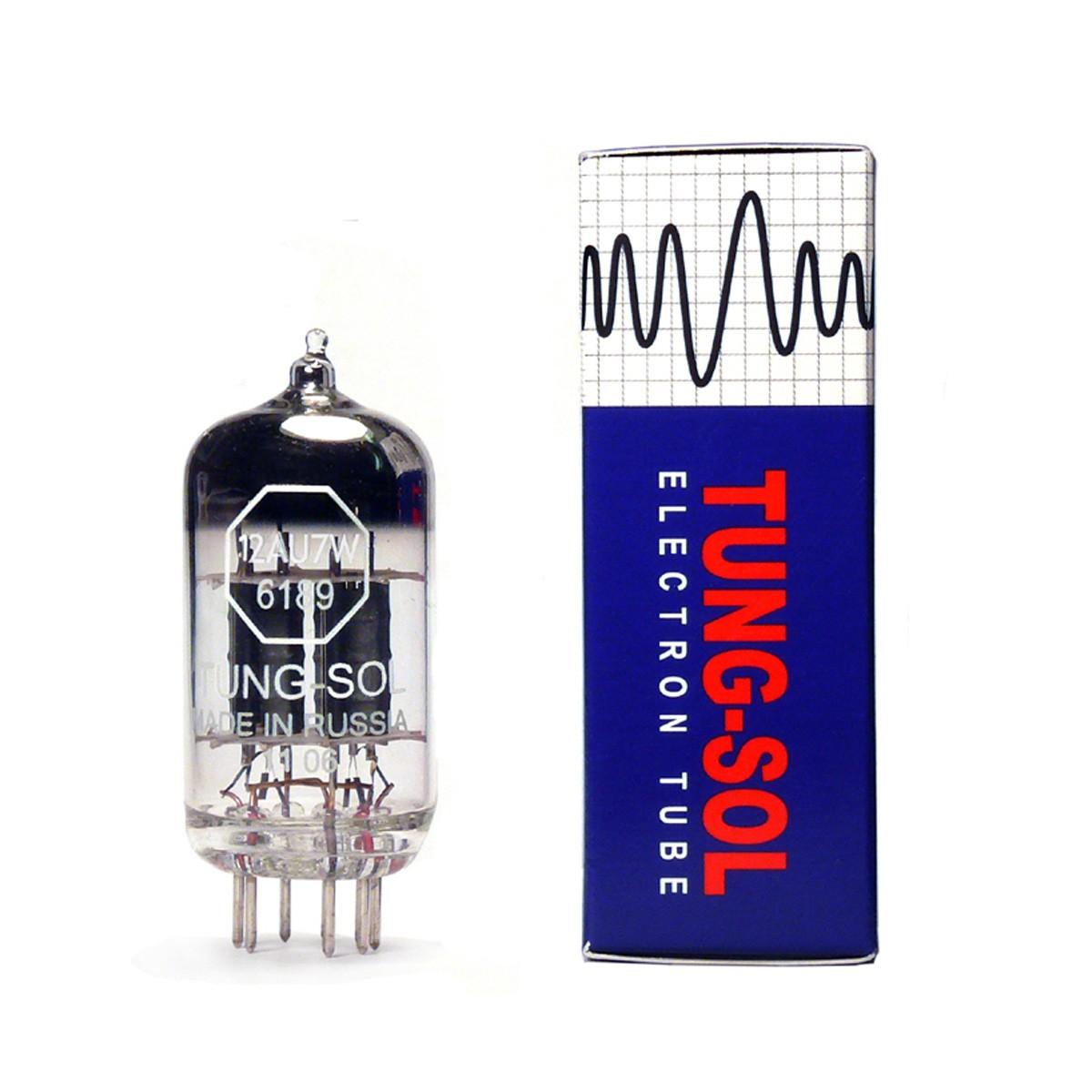 TUNG-SOL 12AU7 / ECC82 Tube de Qualité Militaire (Unité)