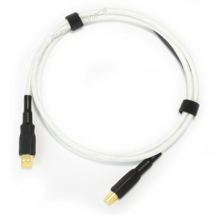 NEOTECH NEUB-1020 Câble USB-A Mâle vers USB-B Mâle 2.0 Argent UP-OCC Plaqué Or 24k 1m