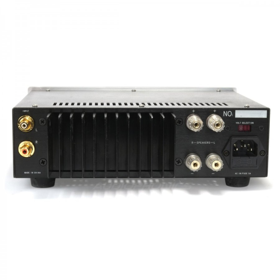 ipar 1023b power amplifier class a b lm317 2x50w 8 ohm audiophonics. Black Bedroom Furniture Sets. Home Design Ideas