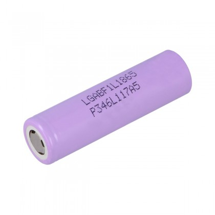 LG ELECTRONICS NR18650F1L Lithium-Ion 18650 Battery 3.6V 3350mAh Rechargeable