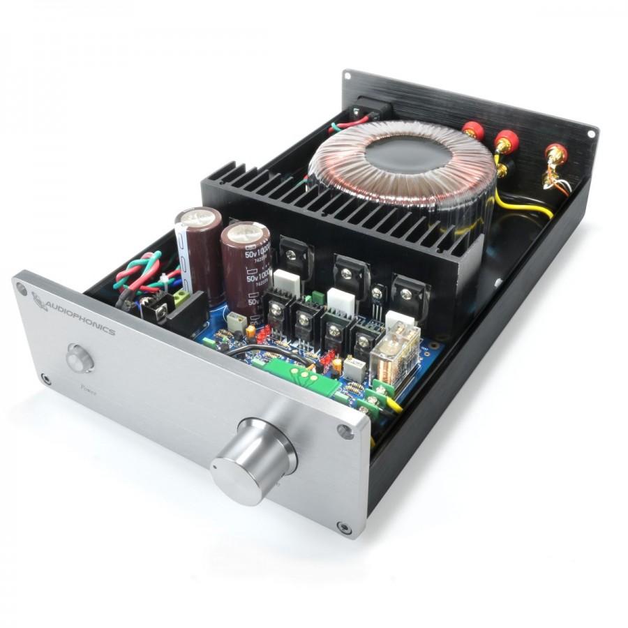 Audiophonics Mos 120 Amplifier Class A B 2x120w 4 Ohm Black Bridge 5w 8 Ohms Circuit Design Ab Lm3886