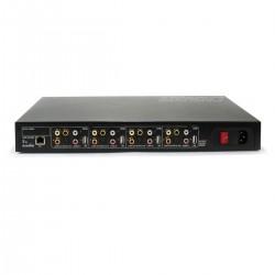 IEAST M400 Lecteur réseau 4 Zones