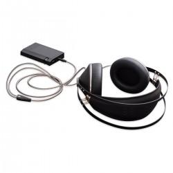 MEZE M99C-BBS Câble de Modulation Jack 2.5mm Symétrique Cuivre OFC Plaqué Argent