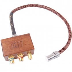 1877 PHONO THE SPIRIT Adaptateur Phono DIN 5 Broches - 2 RCA