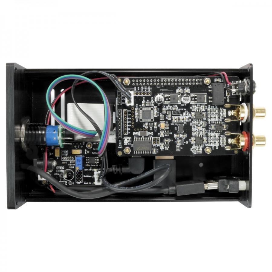 audiophonics raspdac lte i sabre es9038q2m network player raspberry rh audiophonics fr