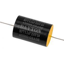 Dayton Audio DMPC-5.1 5.1uF 250V Polypropylene Capacitor