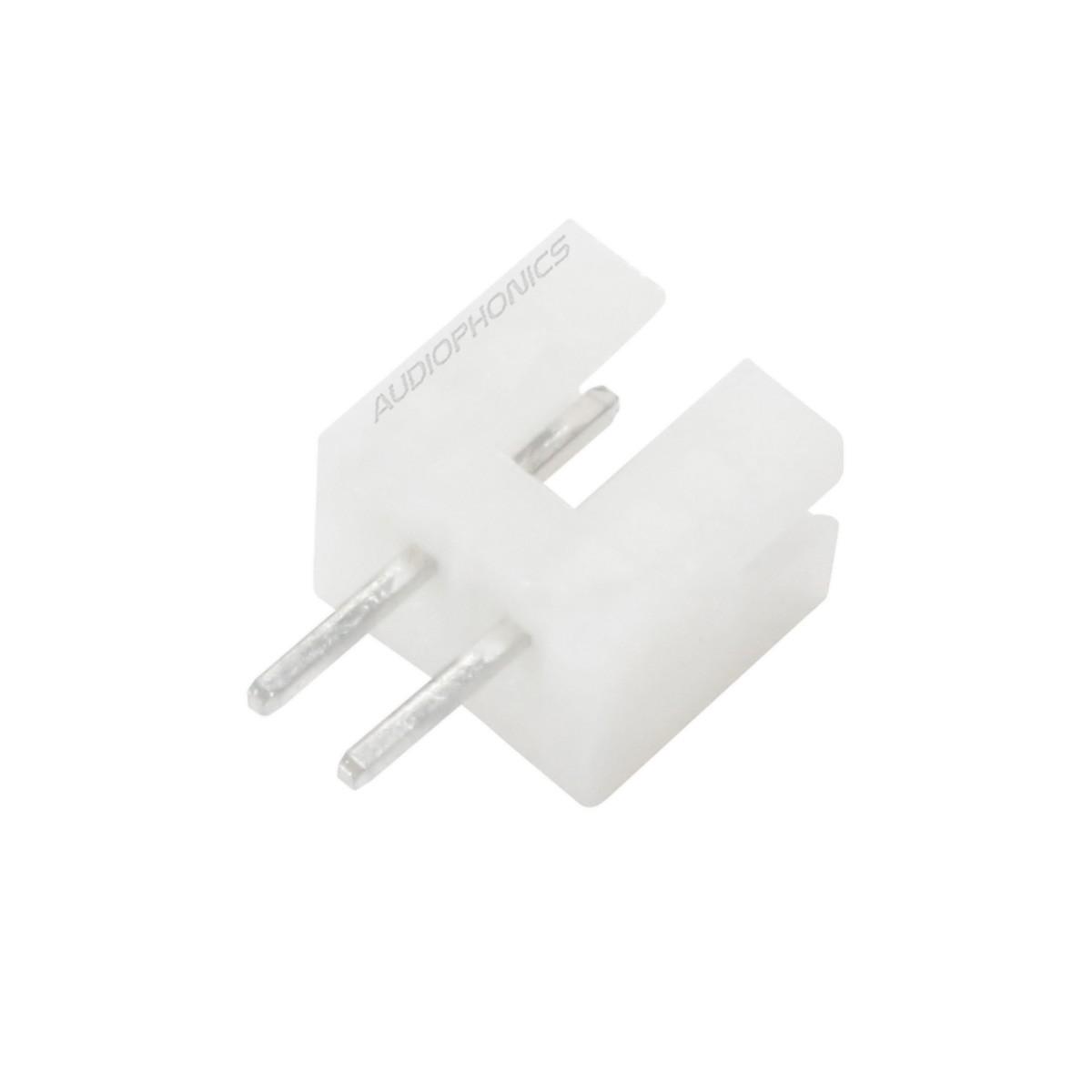 PH 2.0mm Male Socket 2 Channels White (Unit)