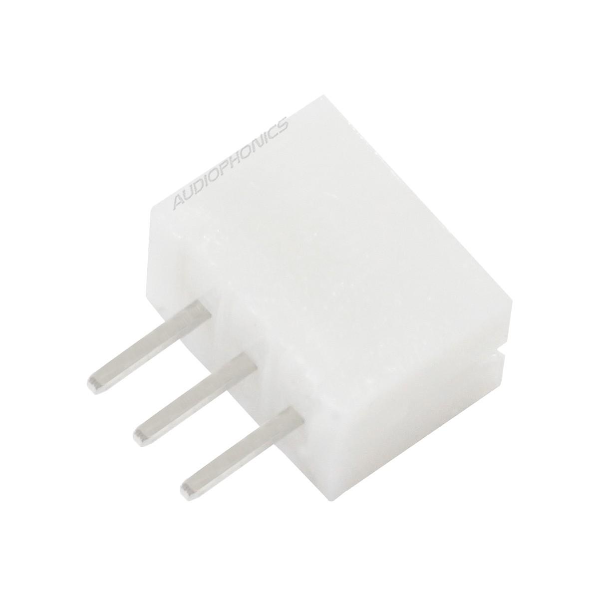 PH 2.0mm Male Socket 3 Channels White (Unit)