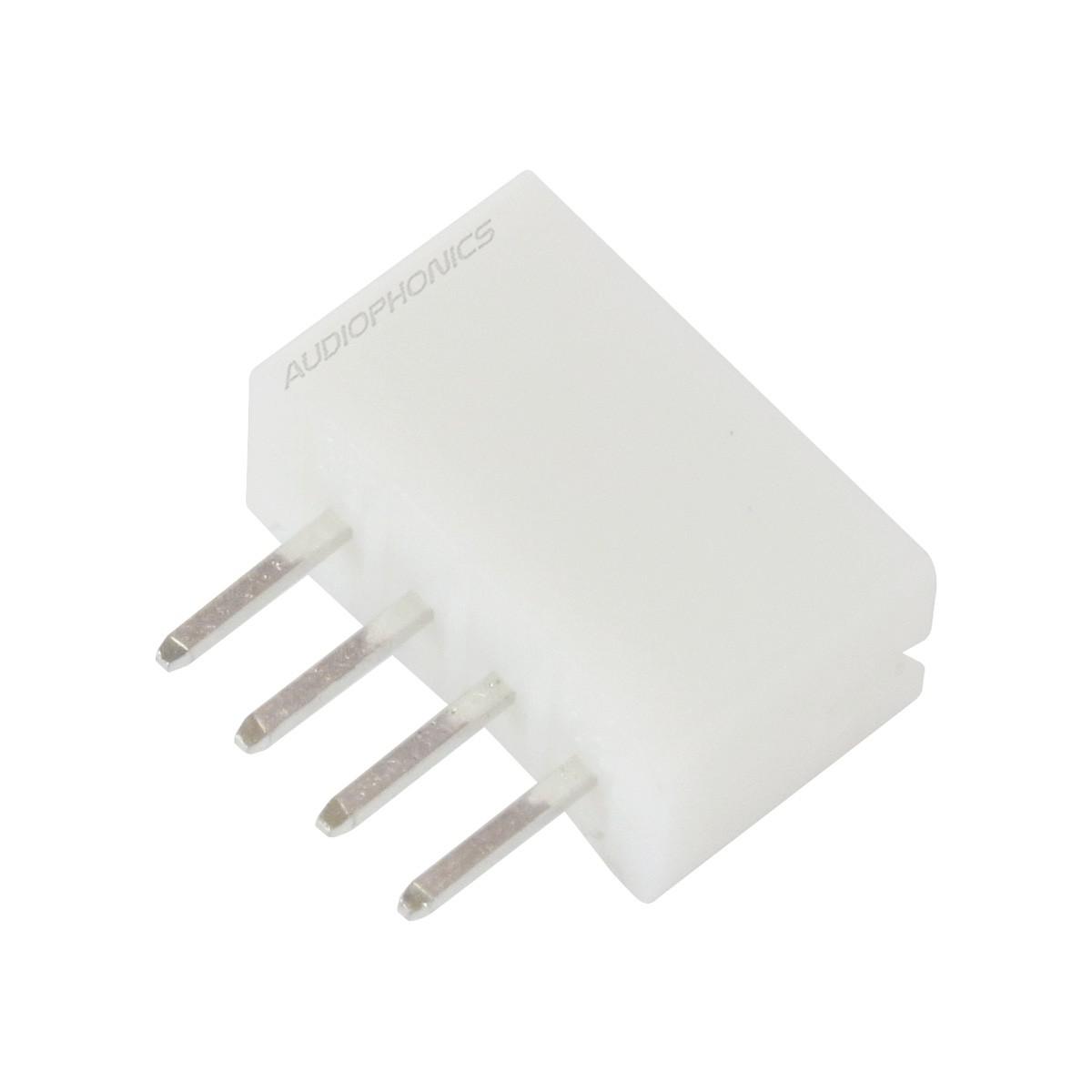 PH 2.0mm Male Socket 4 Channels White (Unit)