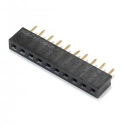 Connecteur Barrette Droit Femelle / Mâle 1x10 Pins 2mm (Unité)