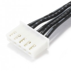XH 2.54mm Cable Female / Female with 2 Connectors 5 Pole (Unit)