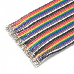Cable XH 2.54mm Male / Male 40 Pins 30cm (Unit)