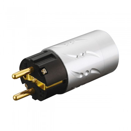 VIBORG VE502G Connector Industry Schuko Gold Plated