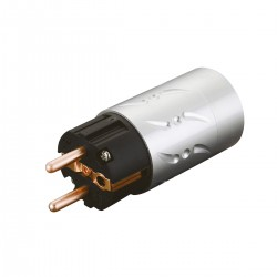 VIBORG VE502 Schuko Power Connector Pure Copper Ø 20mm