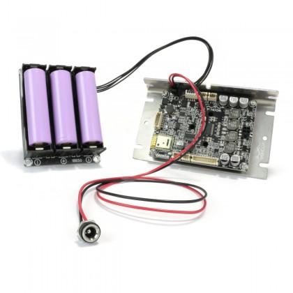 Kit enceinte stéréo bluetooth portable 2x30W Haut parleurs large bande