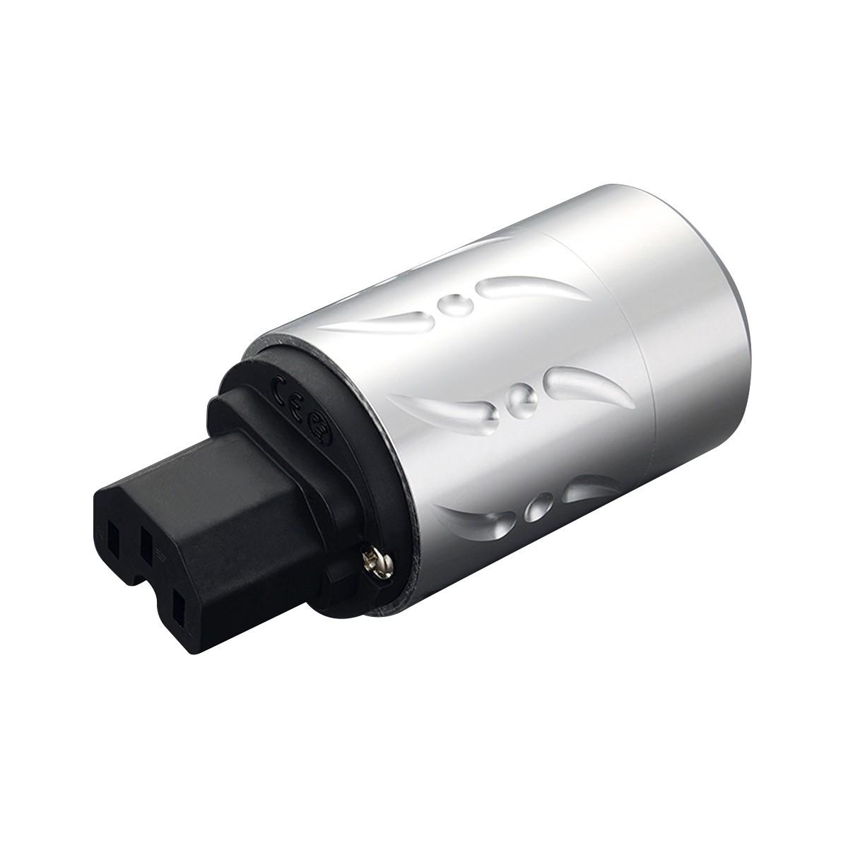 VIBORG VF502 Connecteur IEC C15 Cuivre Pur Ø20mm