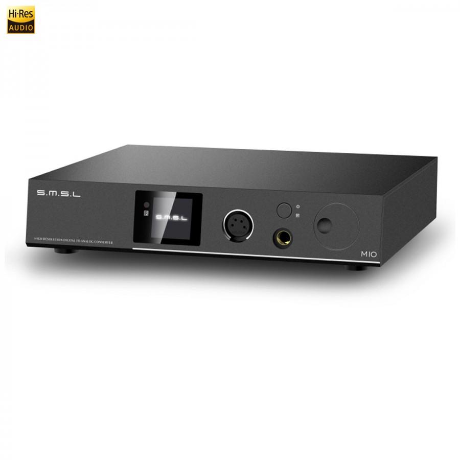 Smsl M10 Headphone Amplifier Dac Balanced Tpa6120a2 Ak4497 32bit Schematic Xlr To Connections 768khz Dsd512