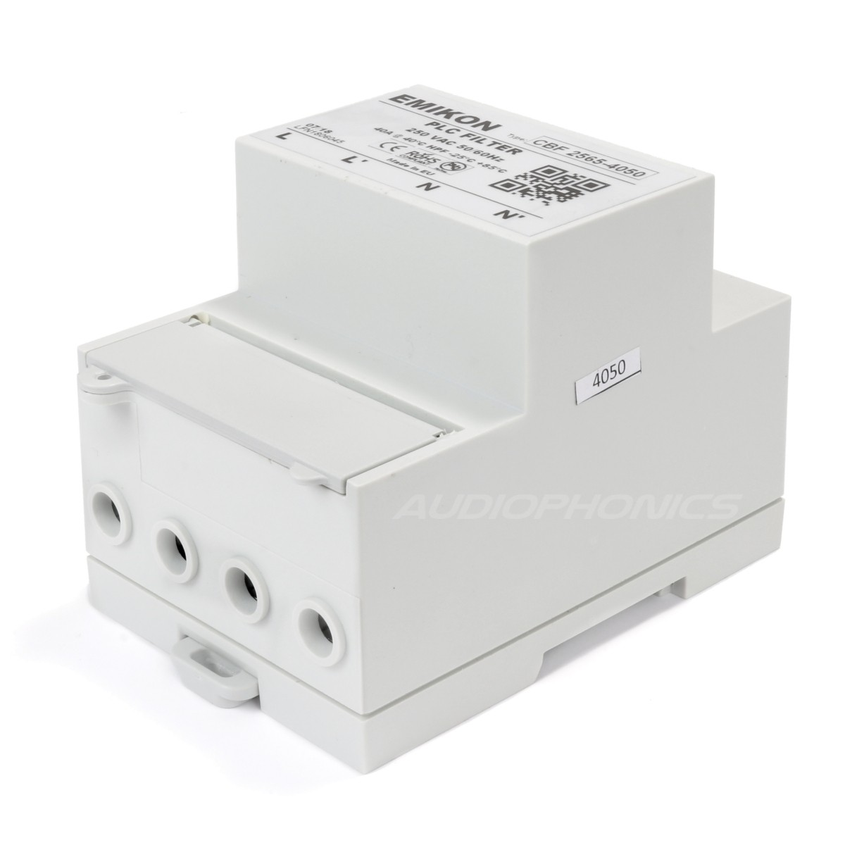 EMIKON CBF 2565-4050 Filtre Secteur 40A 50dB CENELEC-A Linky
