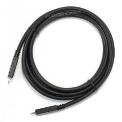 Câble USB-C 3.1 Mâle vers USB-C 3.1 Mâle SuperSpeed SS10 3A 5Gbps 2m