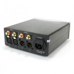 Buffer Fixe Symétriseur / Désymétriseur XLR RCA 2x AOP LM4562 2x LM317