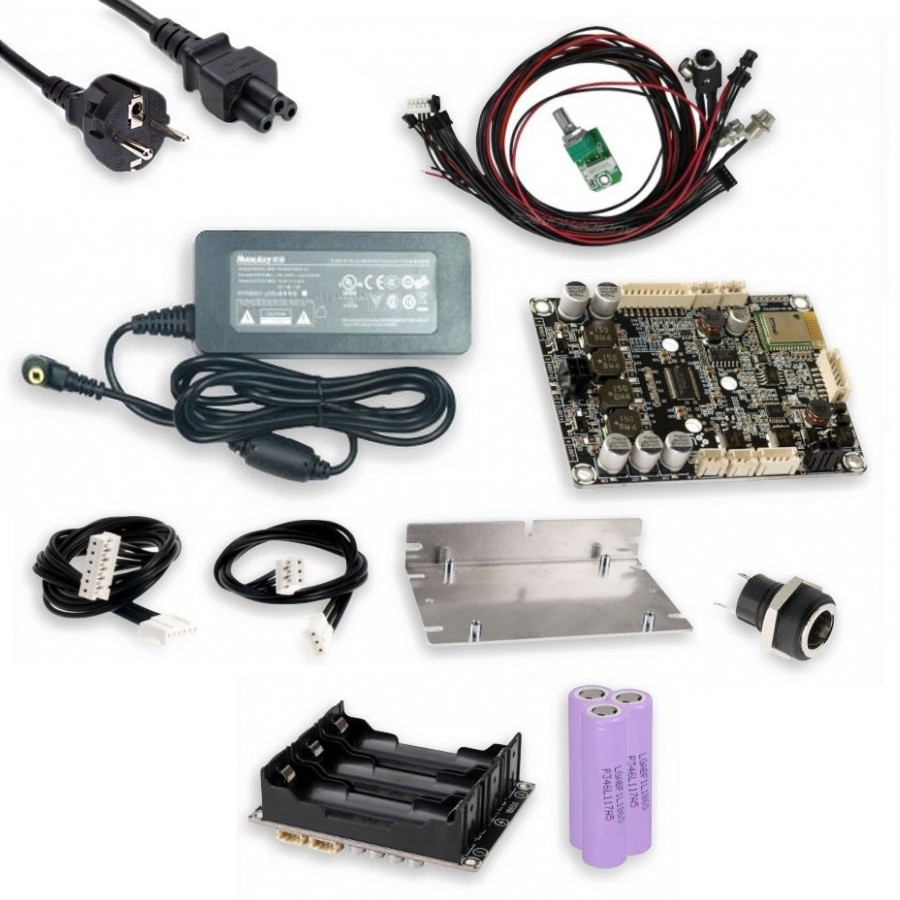 Kit portable stereo speaker bluetooth 2x30W - Audiophonics