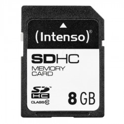 INTENSO Carte Mémoire SDHC Class 10 8Gb