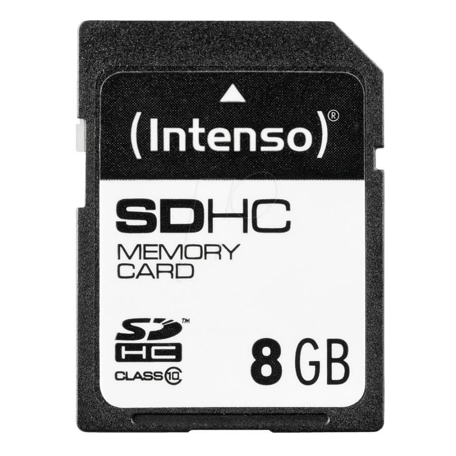 INTENSO SDHC Memory Card Class 10 8Gb