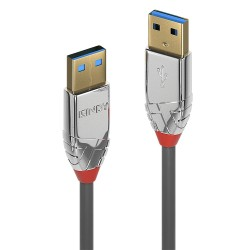 CROMO LINDY USB 3.0 Cable A Male to USB A Male 0.5m 3.0