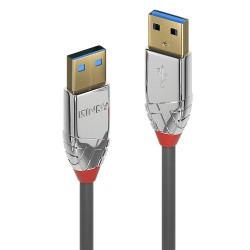 LINDY CROMO Câble USB-A 3.0 Mâle vers USB-A 3.0 Mâle 0.5m