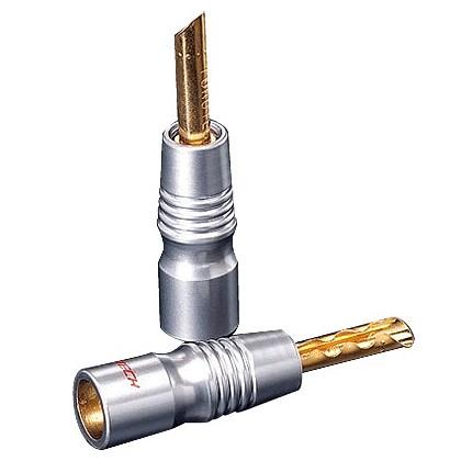 FURUTECH FP-200B (G) Bananes BFA Bronze/Or (x2) Ø 5.0mm