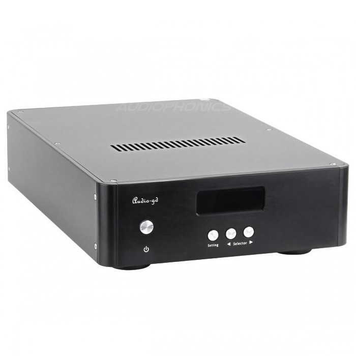 AUDIO-GD R-1 DAC DSP FPGA USB Amanero Isolated HDMI I2S 384Khz 2x Accusilicon 2x Crystek