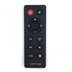 Aluminium Remote for TOPPING DX7 / DX7s / DX7 Pro / DX3 Pro / D70 / D50s