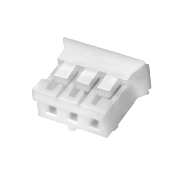 PH 2.0mm Female Casing 3 Channels White (Unit)