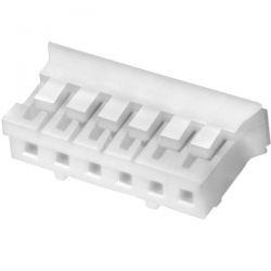 Boîtier PH 2.0mm Femelle 6 voies Blanc (Unité)