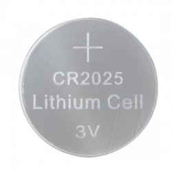 CR2025 Battery 3V Ø 20mm