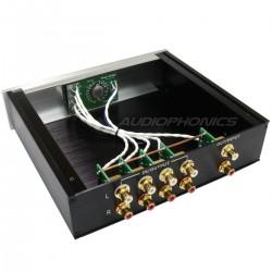 Source Selector 4 RCA input / Reversible