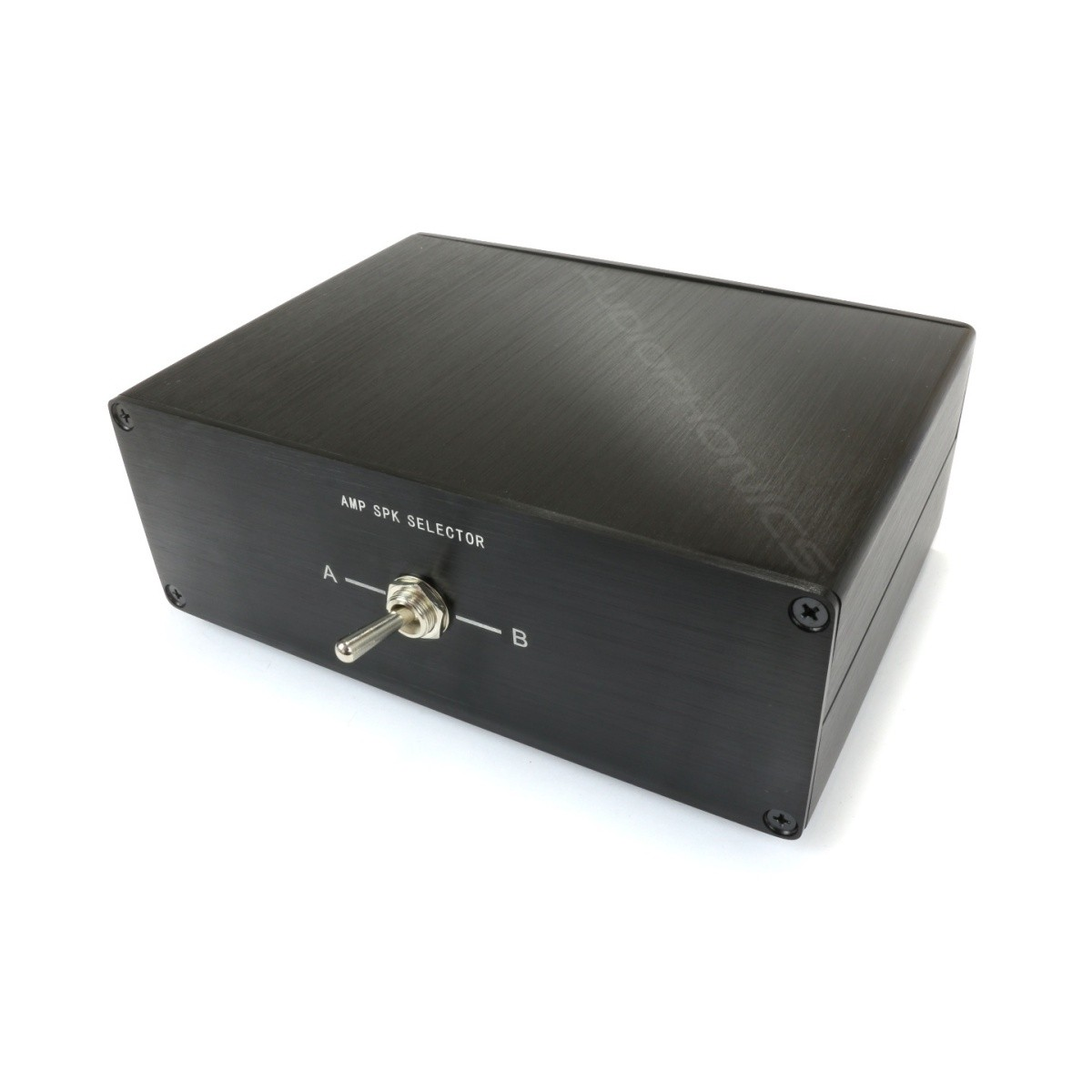 Selecteur audio 1 to 2 reversible for speaker / amplifier Black