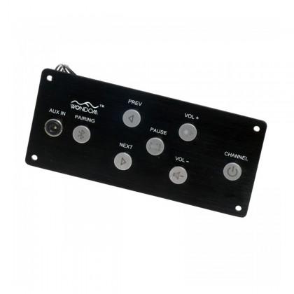 WONDOM BRB6P Récepteur Bluetooth 4.0 aptX CSR8645 avec Panneau de Control