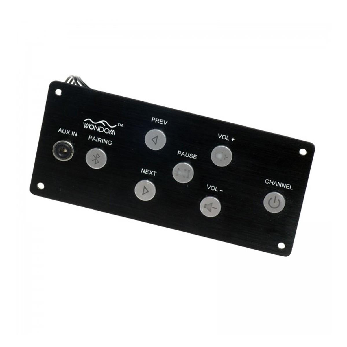WONDOM BRB6P Récepteur Bluetooth 4.0 aptX CSR8645 avec Panneau de Contrôle