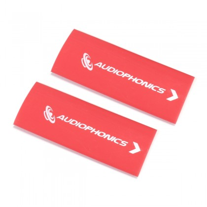 AUDIOPHONICS Heat Shrinkable Sleeve for Cables 3:1 Ø 12mm Red (x2)