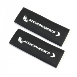 AUDIOPHONICS Heat Shrinkable Sleeve for Cables 3:1 Ø 12mm Black (x2)