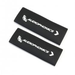 AUDIOPHONICS Gaines Thermorétractables pour Câbles 3:1 Ø18mm Noir (x2)