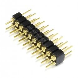 Connecteur Barrette 2.54mm Mâle Rond 2x10 Pôles 5.5mm (Unité)