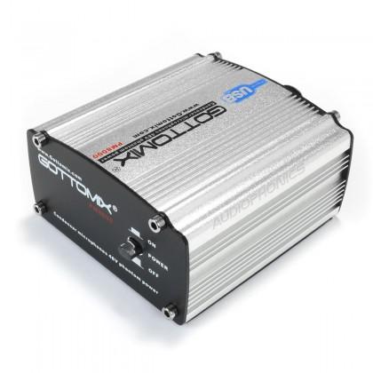 Phantom Power Supply 48V for Condenser Microphone XLR USB